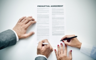 how is a prenup enforced