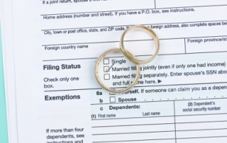 arizona divorce and important tax questions
