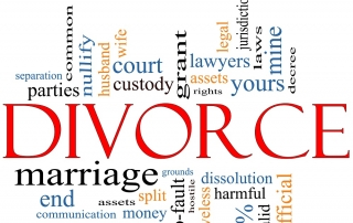 divorce and moving out of state